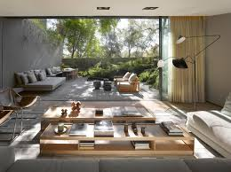 modern wood coffee table interior design ideas