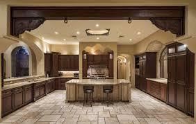 Travertine Kitchen Floor by 35 Luxury Mediterranean Kitchens Design Ideas Designing Idea