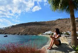 grecotel mykonos blu beach resort luxury travel greece travel