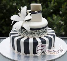 engagement cakes two tier black and white design ac196 amarantos cakes