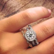 pre owned engagement rings used engagement rings used engagement rings for sale online halo