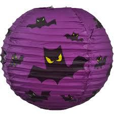 purple bats halloween lantern 10
