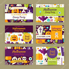 halloween party invitation card stock vector 116152999