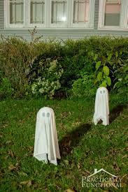 diy floating halloween ghosts for your yard halloween yard