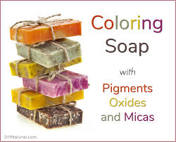 Soap Colorants Using Pigments Oxides And Micas In Homemade Soaps