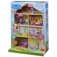 buy peppa pig s lights sounds family home lewis