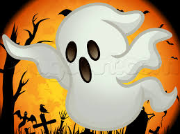 ghost drawings for halloween free here