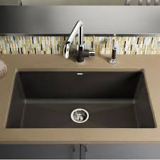 Blanco Kitchen Faucet by Blanco Precis Super 32 X 19 Silgranit Ii Single Bowl Undermount