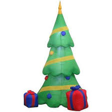 Cheap Blow Up Christmas Decorations by Christmas Inflatables Outdoor Christmas Decorations The Home Depot