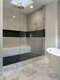 Slate Bathroom Ideas by Black Tile Bathroom Floor Zamp Co