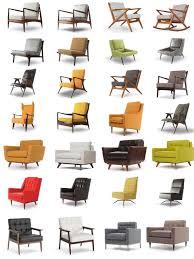 mid century modern chair art u2014 crafthubs