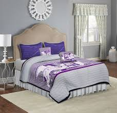 King Size Quilted Bedspreads Buy Purple Taxi King Size Quilted Bedspread Online