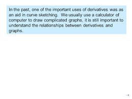 using derivatives for curve sketching ppt download