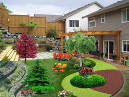 outside furniture cheap small front yard garden design ideas