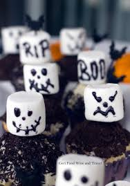 easy and quick halloween cupcakes