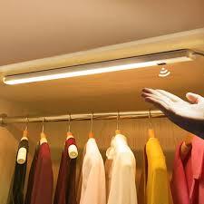 led kitchen cupboard cabinet lights wardrobe l smart switch kitchen cupboard cabinet light bedroom furniture day ls sweep sensor usb led bar light