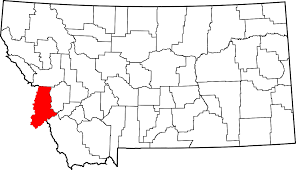 Hamilton Montana Map by National Register Of Historic Places Listings In Ravalli County