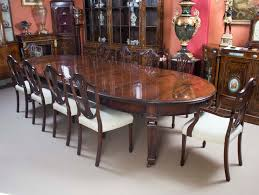 chair personable antique regency mahogany dining table c1920 12
