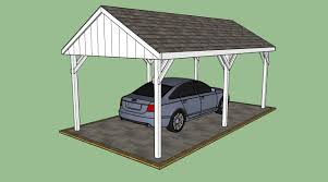 Garage With Carport How To Build A Lean To Carport Howtospecialist How To Build