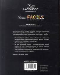 livre larousse cuisine achat vente livres livre le petit larousse cuisine facile tunisie