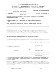 high school senior trips district sponsored overnight trips permission form dublin