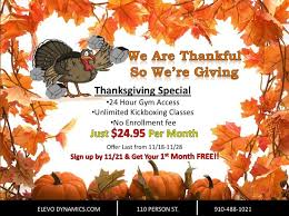 thanksgiving special only one week to take advantage of this
