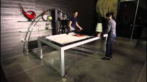 Pool Table Dining Table by Braxton From Buying Presents Fusion Pool U0026 Dining Table Youtube