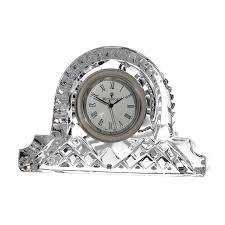 Crystal Mantel Clocks Waterford Lismore Cottage Clock 12cm Waterford Crystal