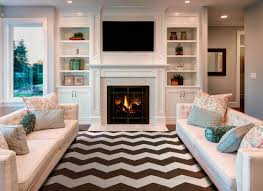 living room furniture with fireplace interior design