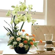 Wholesale Floral Centerpieces by French Bouquet Faux Floral Arrangement Silk Floral Arrangements