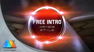 crysis style intro free intro template sony vegas pro 11 youtube