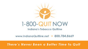 Us Government Business Cards Indiana Tobacco Quitline Download Materials To Print