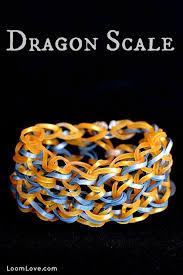 bracelet dragon rainbow images How to make the rainbow loom dragon scale jpg