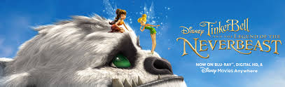 tinker bell legend neverbeast blu ray digital