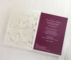 personalized wedding invitations 66 best laser cut personalised wedding invitations by hip hip