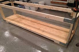 How To Build A Bench Vise How To Build A Heavy Duty Workbench One Project Closer
