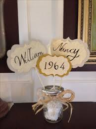 50th wedding anniversary table decorations 50th wedding anniversary decorating ideas 50th wedding anniversary