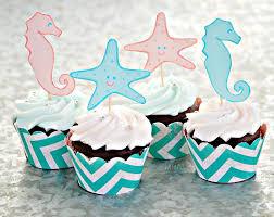 Ocean Cake Decorations Kara U0027s Party Ideas Under The Sea Ocean 2nd Birthday Party