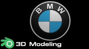 bmw logo bmw logo blender 3d modeling youtube
