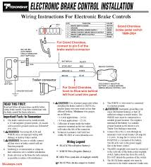 100 trailer brake wiring diagram auto magnetic electric