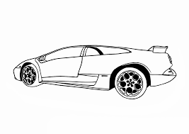 Lamborghini Aventador Side View - lamborghini murcielago coloring pages side view coloringstar