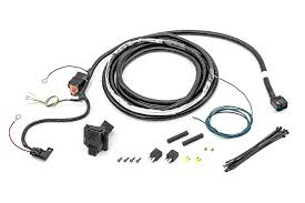 mopar 82211150ac 7 way round hitch wiring harness for 07 09 jeep