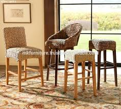 indoor interior wicker rattan furniture dining set bar stool