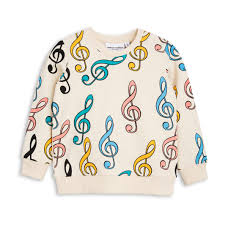 mini rodini cream clef sweatshirt the mini edit