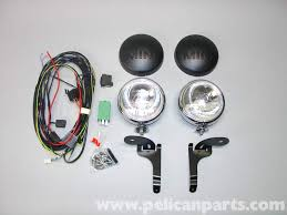 mini cooper driving light installation r50 r52 r53 2001 2006