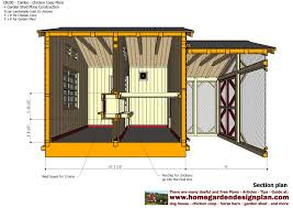 garden shed plan chicken coop barn designs home garden plans combo roof co op style