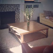 diy square coffee table ana white square x coffee table diy projects