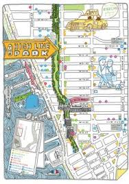 nyc oasis map maps of the high line nyc travel