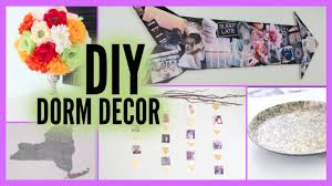 Easy Cheap Diy Home Decorating Ideas by Diy 5 Easy U0026 Affordable Dorm Room Decor Ideas Youtube
