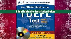 audiobook official guide to the toefl test with cd rom 4th
